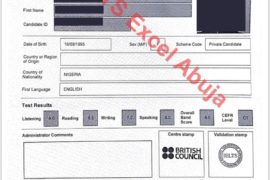 ielts past results of bivent students